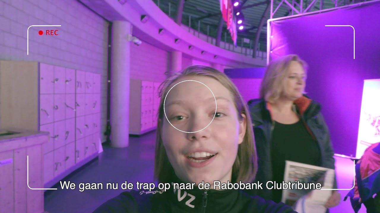 Vlog meisje Rabo Shortrack