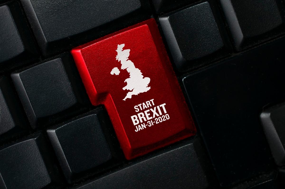 Brexit startdatum toetsenbord