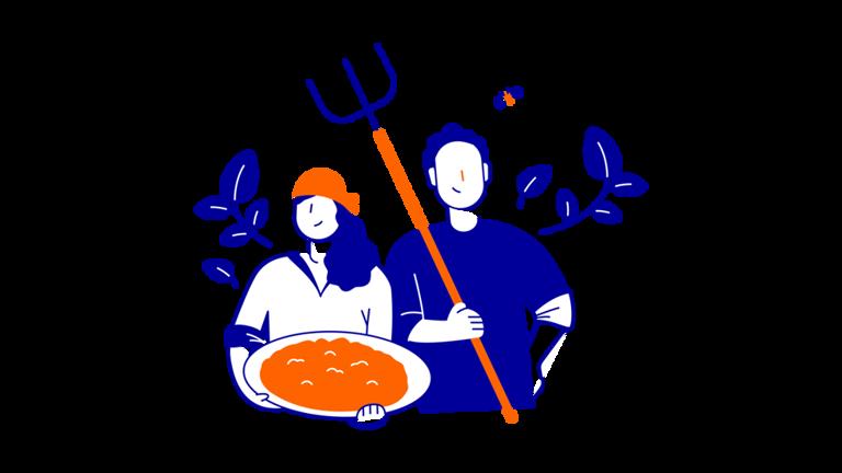 illustration smallholder farmers