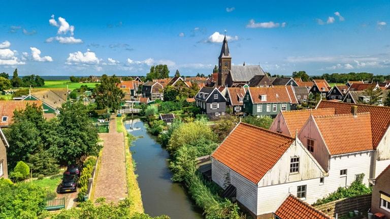 Nederland landelijk dorp