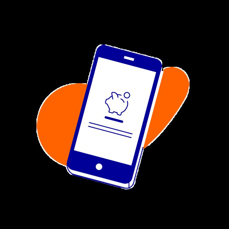 Samengesteld gezin gebruikt Inzicht in de Rabo App
